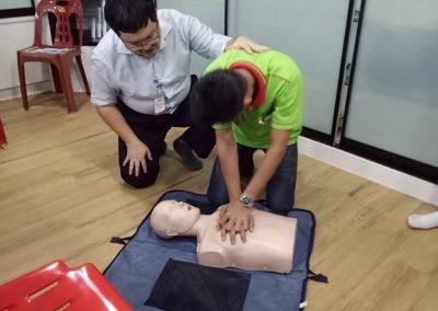 First Aid Training 21.05.2019