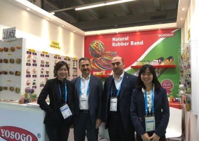 Frankfurt Fair 2019 - with customer